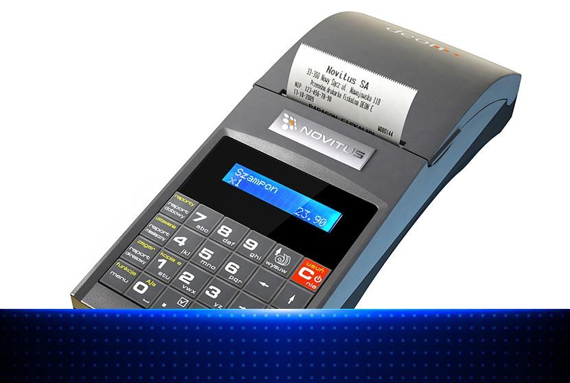 Novitus Deon E - mała drukarka fiskalna