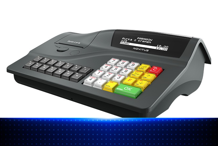 Novitus Sento LAN E - elegancka kasa fiskalna