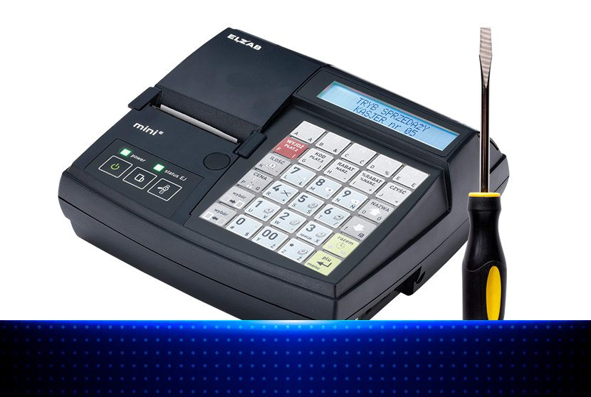 Usługi serwisu kas fiskalnych