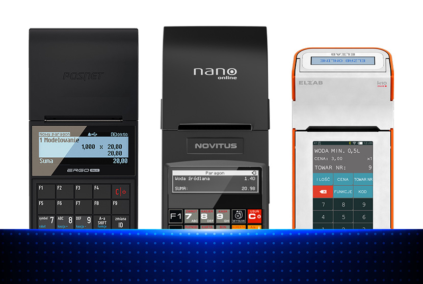 Kasy fiskalne online - urządzenia mobilne