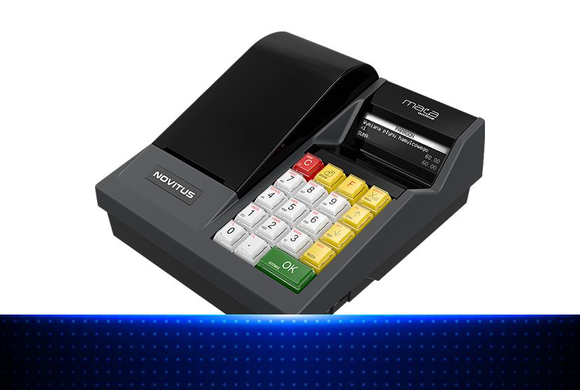 Rezerwowa kasa fiskalna - Novitus Mała Online
