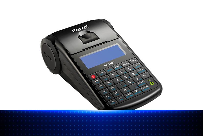 Farex Pro 600 - nieduża kasa fiskalna online